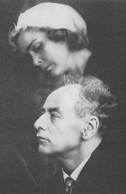 Landau and his wife Cora