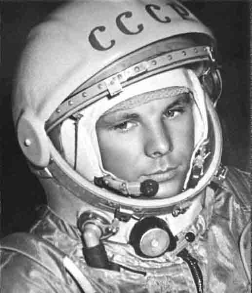 Photo Cosmonaut Yuri Gagarin