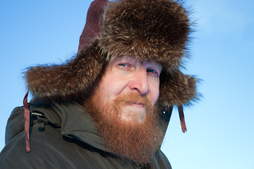 Photo of Russian Winter Men's Fur Hat Ushanka