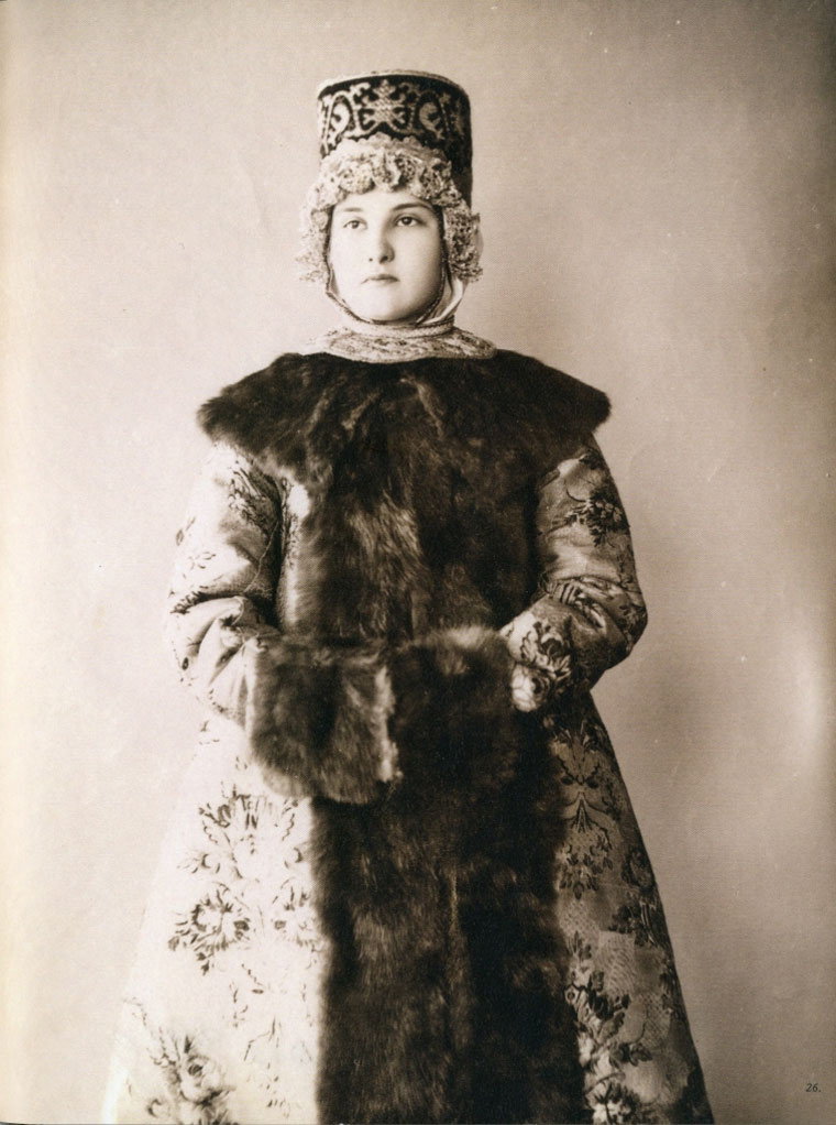 Festive clothing (beginning of the 20th century). Northern Russia, Tver Province