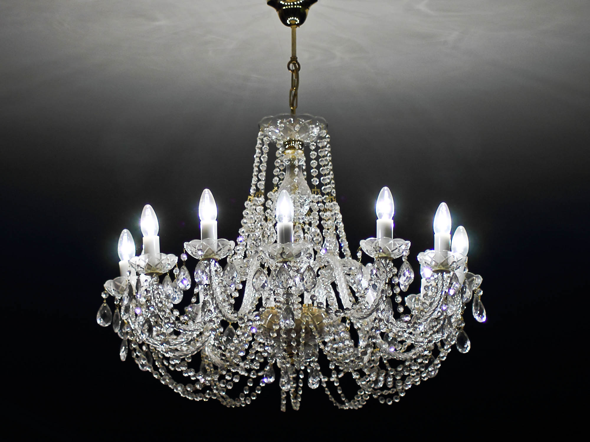 Soviet Crystal chandeliers