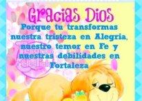 Imágenes Cristianas: Gracias Dios