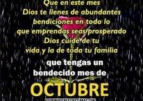 Imágenes Cristianas: Que tengas un bendecido mes de octubre