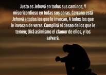 Imágenes cristianas: Justo es Jehová