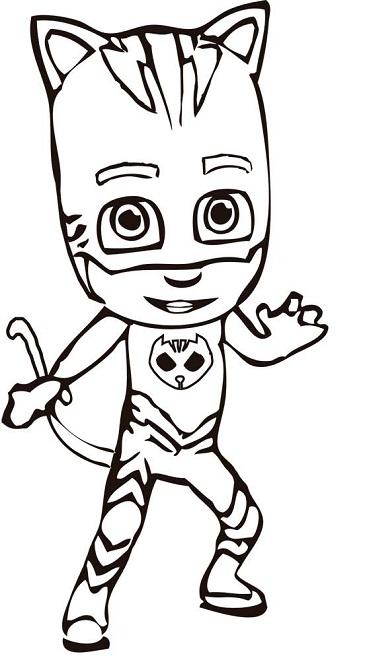 Dibujos para colorear PjMasks – Héroes en Pijamas  Todo ...