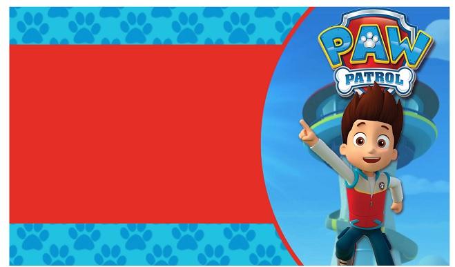 Etiquetas stickers tarjetas Paw Patrol o Patrulla Canina : Todo Peques