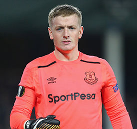 Pickford and six U21s called up for Engalnd