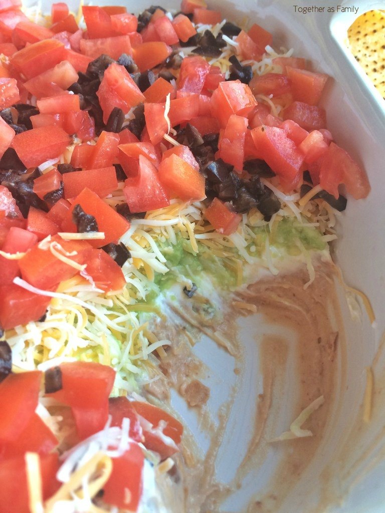 Witching Layers Loadedwith Layer Dip Toger As Family Layered Mexican Dip Australia Layered Mexican Dip No Beans Sour Fresh Shredded nice food Layered Mexican Dip