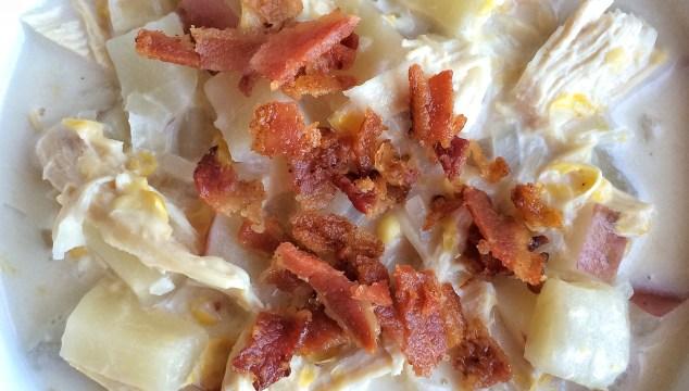 Slow Cooker Chicken Corn Potato Chowder