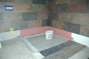 Badezimmer vor der Vollendung