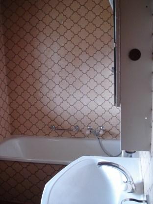 Das Badezimmer zum letzten