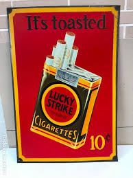 It's Toasted. What's your lucky strike?