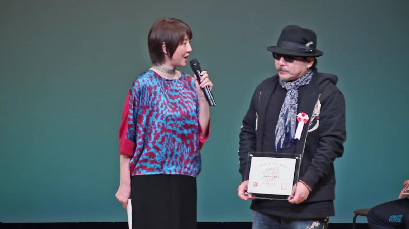 VIDEO: GARO & Stunt Actor Niibori Kazuo Wins Awards At Japan Action Awards 2015