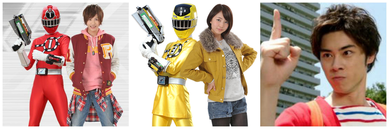 jun shison riria and junki tozuka cast in liveaction