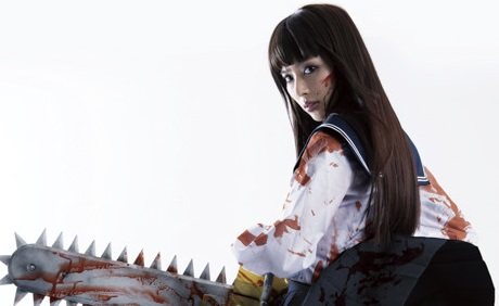 "Kamen Rider Drive Actress, Rio Uchida, Stars in ""Chimamire Sukeban Chainsaw"" Live-Action Film"