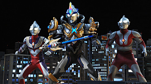 Ultraman X Movie Trailers Released