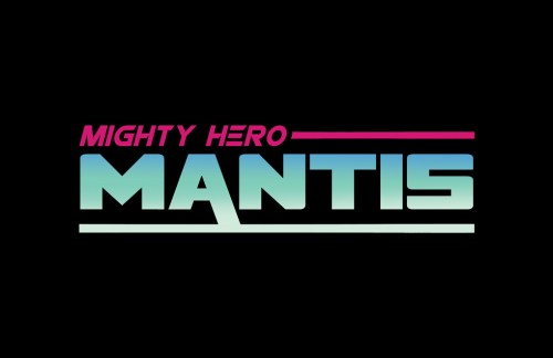 Mighty Hero Mantis logo