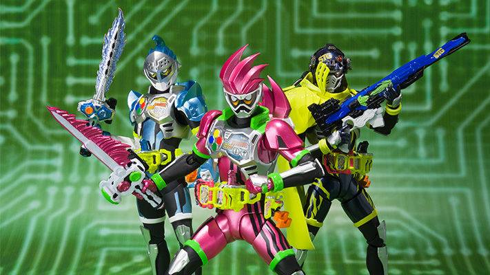 S.H.Figuarts Kamen Rider Ex-Aid Trio Coming in March