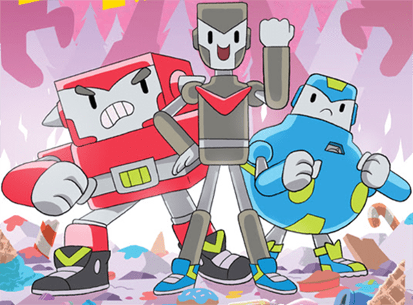 Oni Press Announces Brobots and the Mecha Malarkey