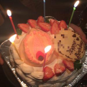 千葉の「夜のケーキ屋さん」マンコケーキ