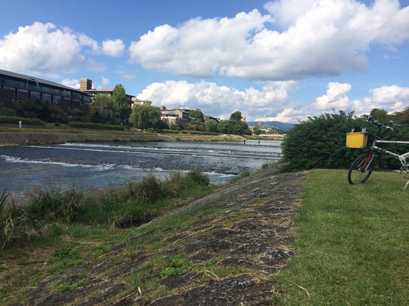 Zen worden tijdens het fietsen door Kyoto