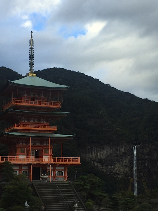 Nachi Falls and Sanjudo Pagoda