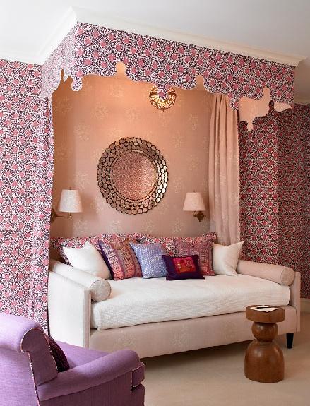 Katie Ridder pink girls room Muriel Brandolini