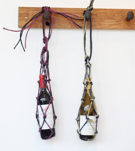 Alder and co net bottle carrier