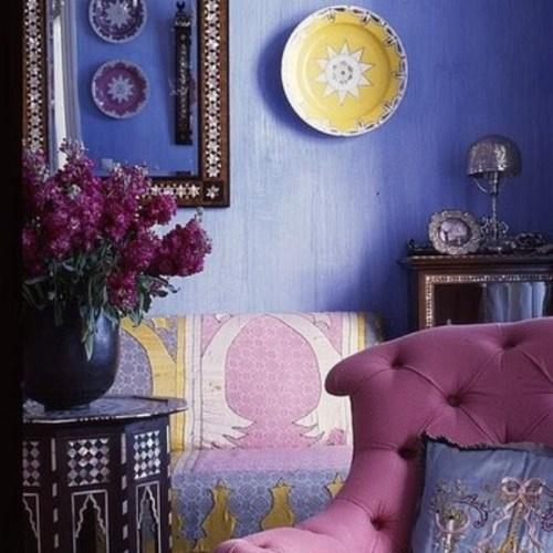 Moroccan lavender detail Domino