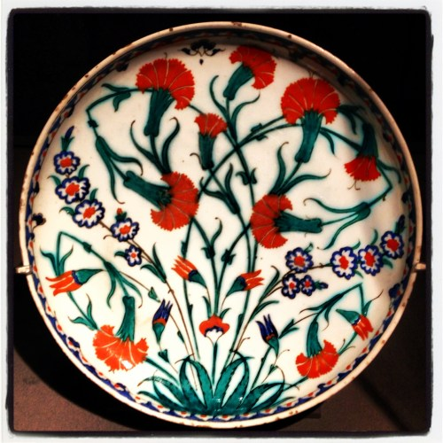 Iznik carnations from MIA