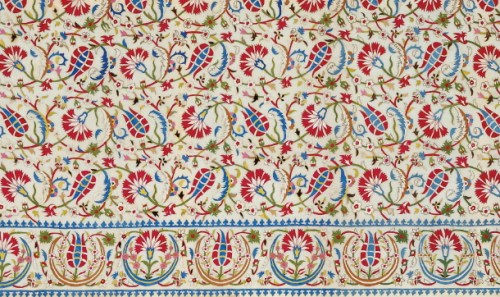 Embroidered cover (detail), Istanbul, 16th:early 17th century via Textile Museum