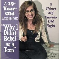 Why Do Teenagers Rebel? Thoughts from a 19-Year-Old Who Didn't