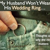 Wedding ring issues