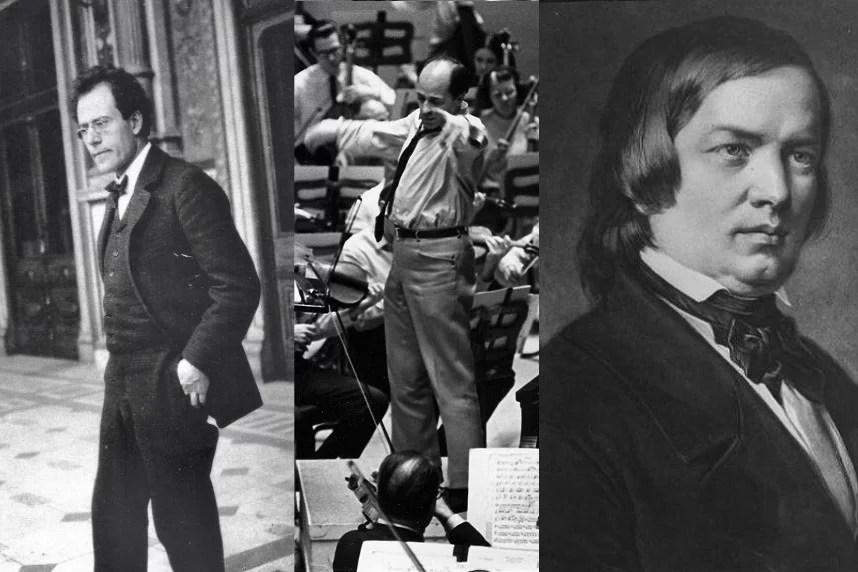 Mahler, Boulez, Schumann