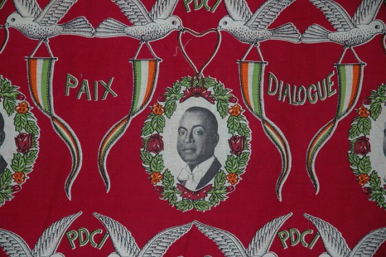 President Houphouët-Boigny print