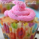 Vanilla Cupcakes With Rose Frosting | Easy Cupcake Recipe