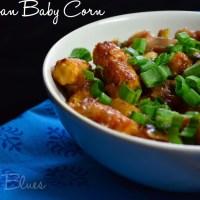 Schezwan Baby Corn Recipe | Easy Appetizer Recipes