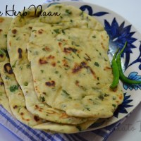 Easy Garlic Herbed Naan Recipe | Easy Bread Recipes