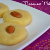 Microwave Milk Peda Recipe | Easy Dessert Recipes