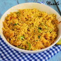Masala Couscous Recipe | Couscous Recipes