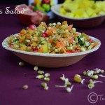 Sprouts Salad Recipe| No Cook Raw Recipes
