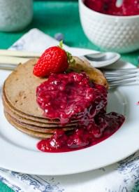 Gluten Free Vegan Buckwheat Pancakes Recipe