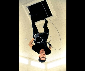 Ethan Hunt Hanging Upside Down Mission Impossible Wallpaper - Tom Cruise Wallpapers