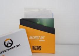 Unboxing – Press kit Overwatch «Recruit Kit»