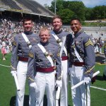 Tom, Les, Jason, Eddie | West Point Graduation - 2005