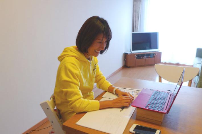 グローバルクラウンの英語講師・西光千佳(さいこうちか)さん