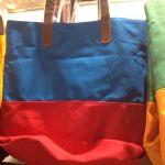 GUの素敵な青赤バッグを購入