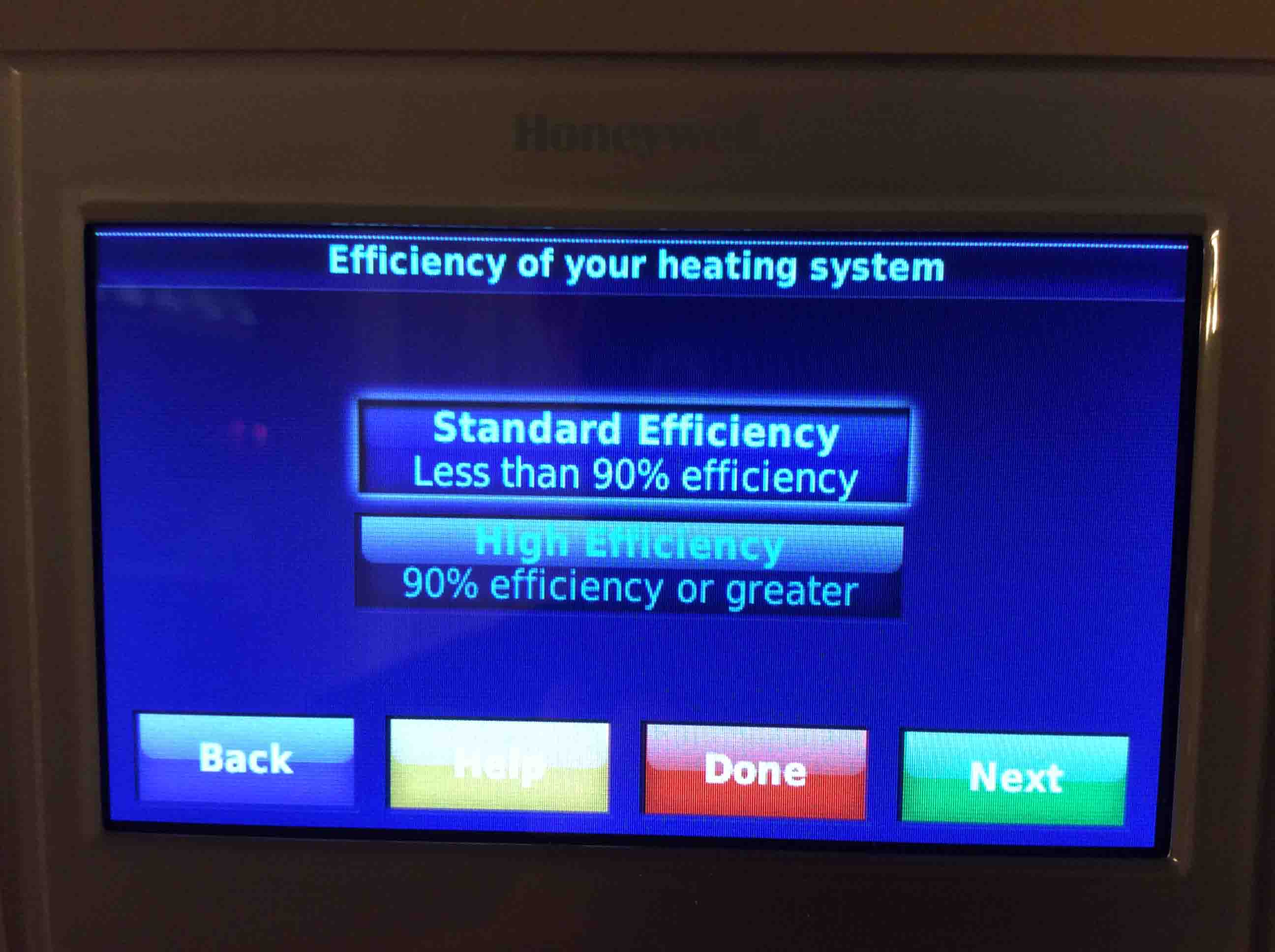 Setting temperature differential honeywell smart for What is the most efficient heating system