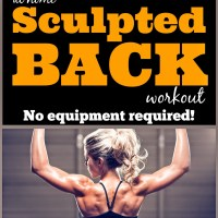 Best At-Home Back Workout - No Equipment Required!