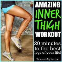 Amazing Inner Thigh Workout - The Best Moves To Shape Your Thighs!